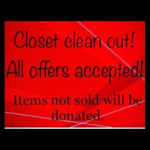 ROCK BOTTOM PRICES‼️LAST CHANCE ON MOST ITEMS‼️